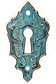 The keyhole, decorative design element, isolated on white backgr - PhotoDune Item for Sale