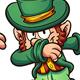 Dabbing Leprechauns - GraphicRiver Item for Sale