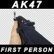 First Person AK47 - VideoHive Item for Sale