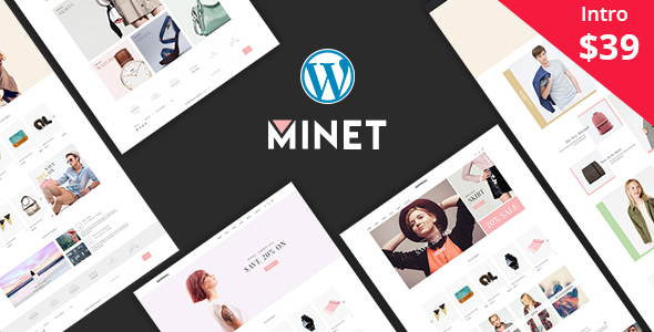 ThemeForest Minet Minimalist eCommerce WordPress Theme 20908707