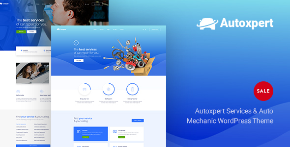 ThemeForest AutoXpert A Car Repair Services & Auto Mechanics WordPress Theme 20760680