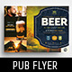 Local Pub Flyer Template - GraphicRiver Item for Sale