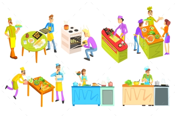 Cooking Illustrations Collection - Food Objects