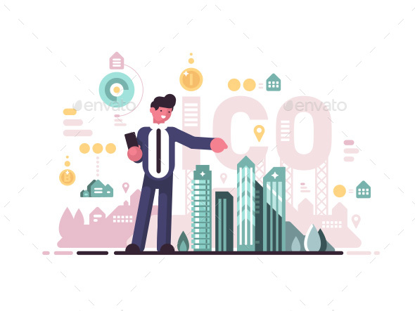 Initial Coin Offering - People Characters