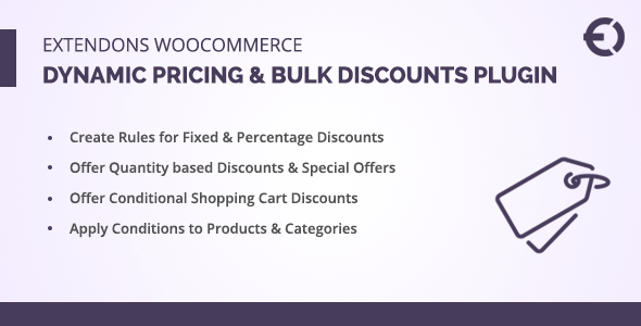 Extendons WooCommerce Dynamic Pricing & Bulk Discounts Plugin Best Scripts