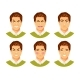 Man Emotions Vector 2 - GraphicRiver Item for Sale