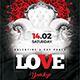 Valentine Love Party - GraphicRiver Item for Sale