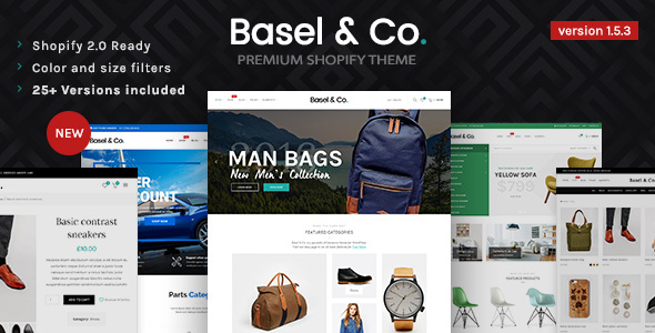 Basel - Responsive eCommerce Shopify Theme (Fashion, Electronics and many more)
