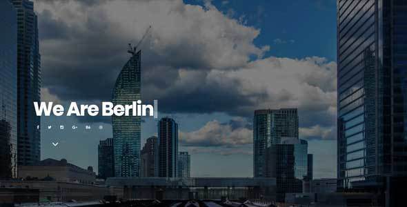 ThemeForest Berlin Portfolio Template 21158245