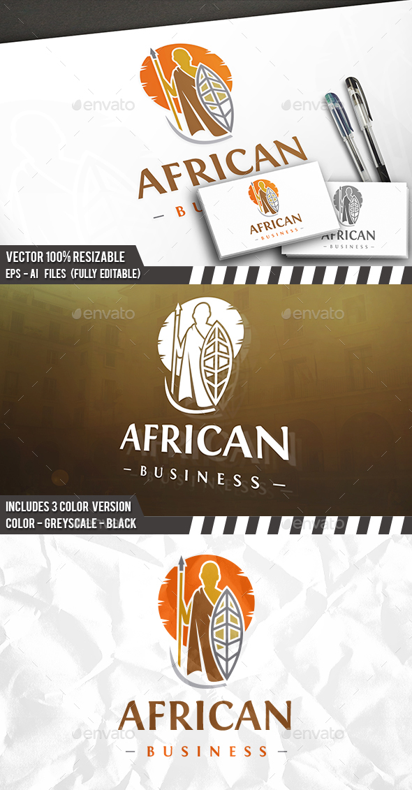 Aboriginal Man Logo - Crests Logo Templates