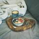 Rice coconut porridge and espresso in bed, copy space - PhotoDune Item for Sale