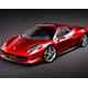 Ferrari 458 Italia 3d model.