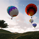 Hot Air Baloon 2K - VideoHive Item for Sale