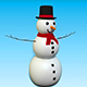 SNOW MAN HIGHPOLLY. - 3DOcean Item for Sale