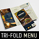 Tri-Fold Pub Menu Template - GraphicRiver Item for Sale