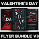 Valentines Day Flyer Bundle V3 - GraphicRiver Item for Sale