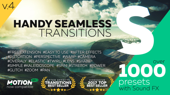 Videohive Handy Seamless Transitions v4 18967340