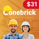Conebrick – A Masterly WordPress Theme for Construction