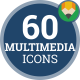 Icons Pack Multimedia Device Digital Electronic Flat Animated Icons