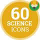 Icons Pack Science Technical Knowledge Flat Animated Icons