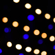 Bokeh led lights in a row at a concert - PhotoDune Item for Sale