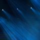 Blue stage lights during a rock concert - PhotoDune Item for Sale