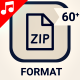 File Type Format Document Icon Set - Line Animated Icons