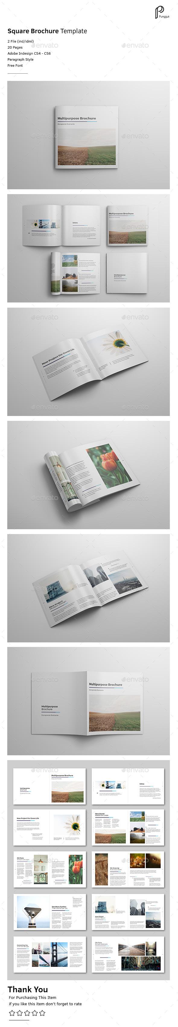 Square Brochure Vol.7 - Portfolio Brochures