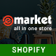 eMarket - Responsive & Multipurpose Sectioned Drag & Drop Shopify Theme - ThemeForest Item for Sale