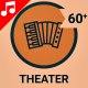 Playhouse Theater Opera Icon Set - Line Motion Graphics Icons - VideoHive Item for Sale