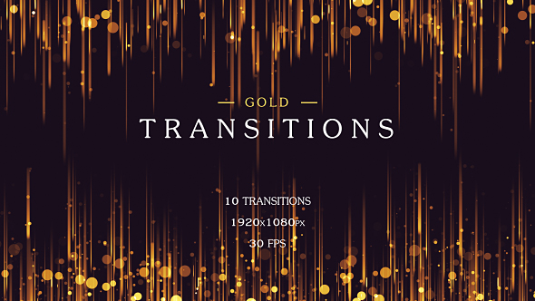 VideoHive Gold Transitions 21241887