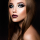 Make up. Glamour portrait of beautiful woman model with fresh makeup and romantic hairstyle. - PhotoDune Item for Sale