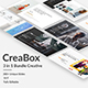 3 in 1 CreaBox Bundle Creative Powerpoint Template