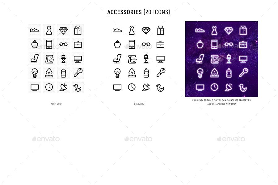 80s Icon set