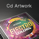 Electro Colors - CD Template - GraphicRiver Item for Sale