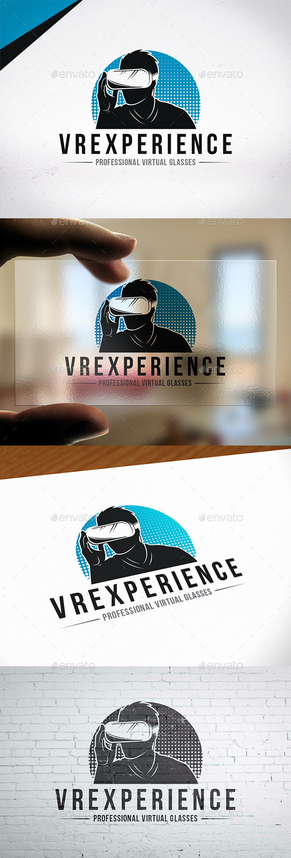 Augmented Reality Logo Template - Humans Logo Templates