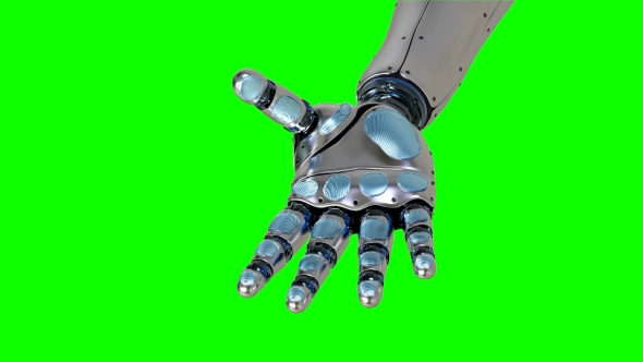 VideoHive Futuristic Artificial Replacement Part Arm 21242805