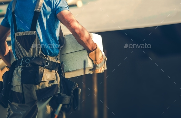 Construction Site Contractor - Stock Photo - Images