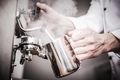 Barista Milk Steaming - PhotoDune Item for Sale
