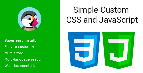 CodeCanyon Simple Custom CSS and JavaScript 21243031