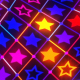 Stars Colorful Neon Tunnel - VideoHive Item for Sale