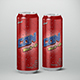 Beverage Can 680ml Mock-Up - GraphicRiver Item for Sale