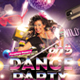 80's Retro Dance Party Flyer - GraphicRiver Item for Sale