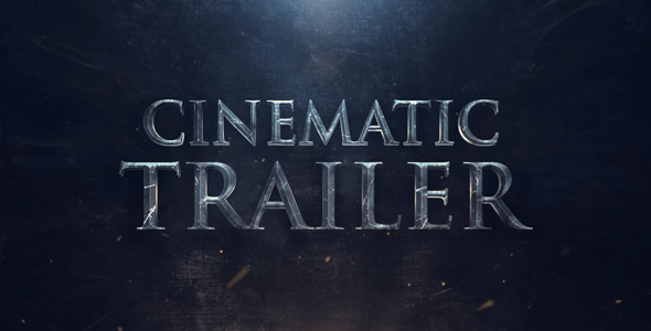 VideoHive Cinematic Trailer 21243131