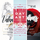 Valentine's Day Flyer and Poster Bundle - GraphicRiver Item for Sale