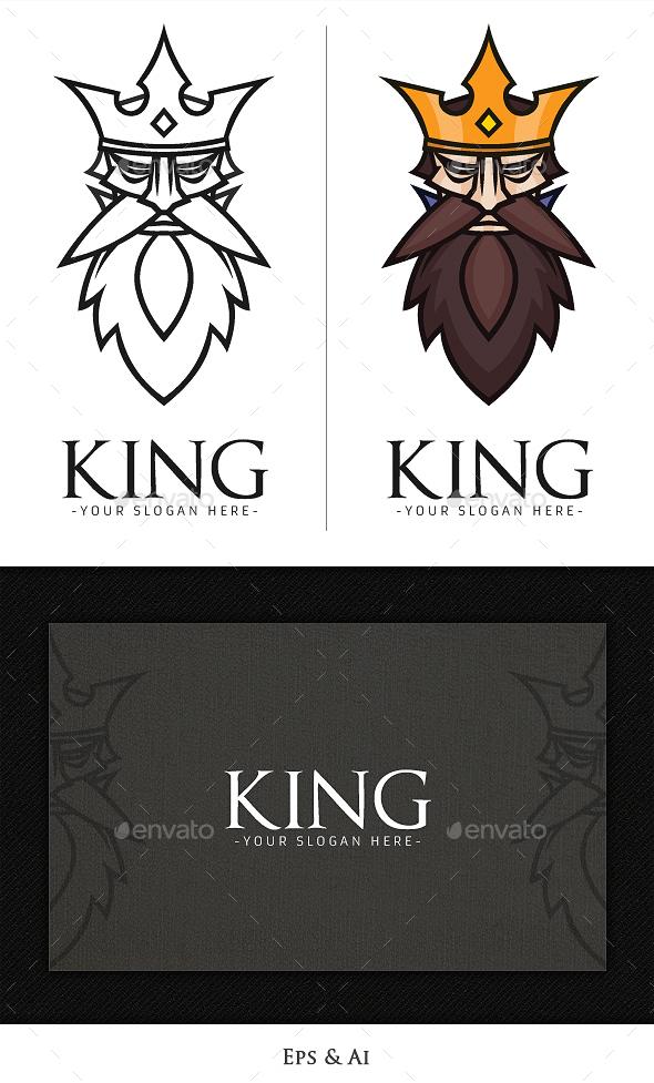 King Logo - Humans Logo Templates