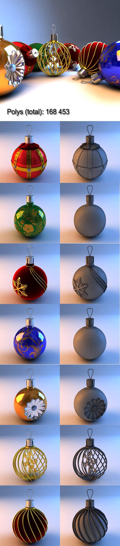 ChristmasToys - 3DOcean Item for Sale