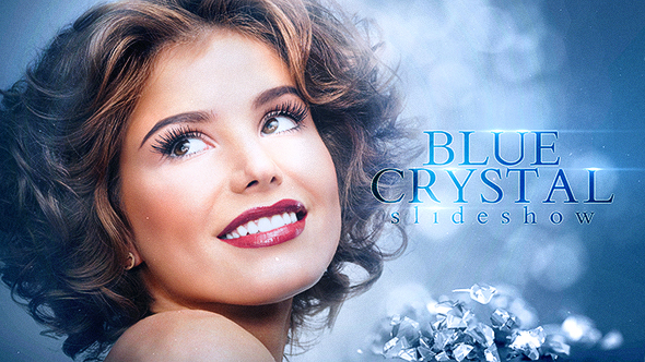 VideoHive Blue Crystal Slideshow 21243466