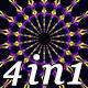 Pulsing Color - VJ Loop Pack (4in1) - VideoHive Item for Sale