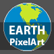 Earth Pixel Art